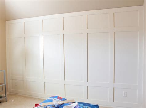 panelled walls diy wall paneling step by step decor chick the