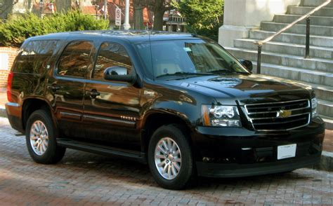 chevrolet tahoe pictures auto database