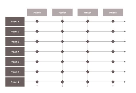 matrix org chart template matrix organization