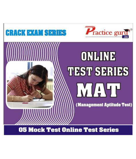 Mock Test For Mat by 5 Course Mock Tests For Mat Test Buy 5