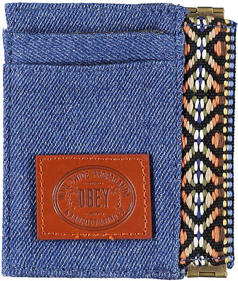 Yumma Tribal by Obey Yuma Indigo Tribal Print Id Wallet