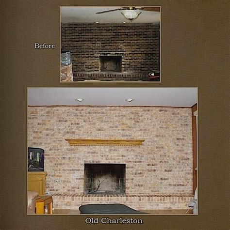 how to refinish a brick fireplace 28 how to refinish a brick fireplace chicagoland