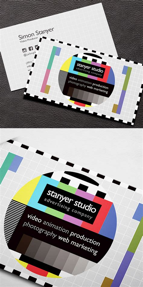 producer business card template business cards design 26 ready to print templates