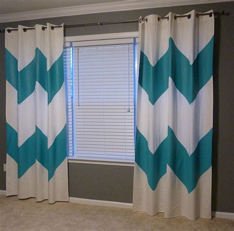 aqua and grey curtains 75 best images about chevron bedroom on pinterest chair