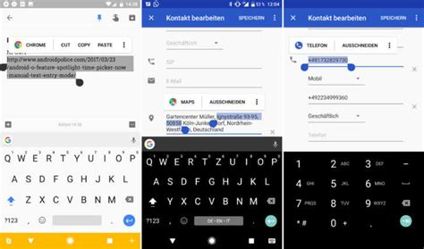 copy and paste on android android o neue textauswahl mit app vorschlag soll das l 228 stige copy and paste vereinfachen gwb