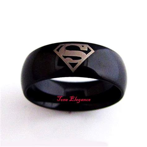 mens superman engagement wedding tungsten rings sz11 ebay
