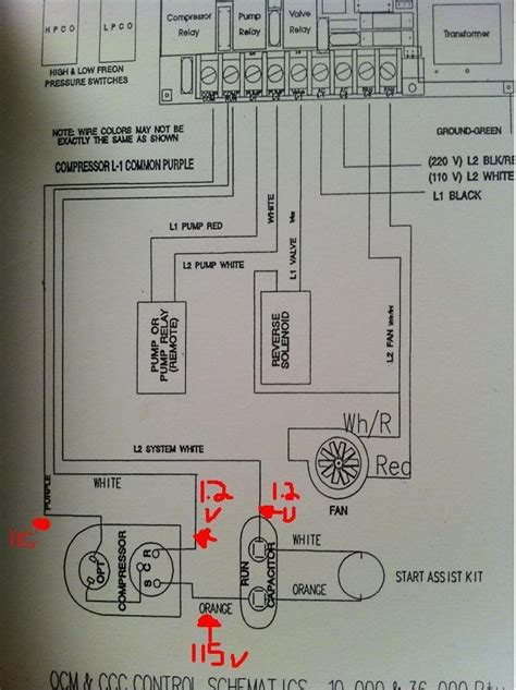 copeland compressor wiring diagram wiring diagram and