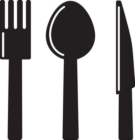 Black White Kitchen best fork clip art 504 clipartion com