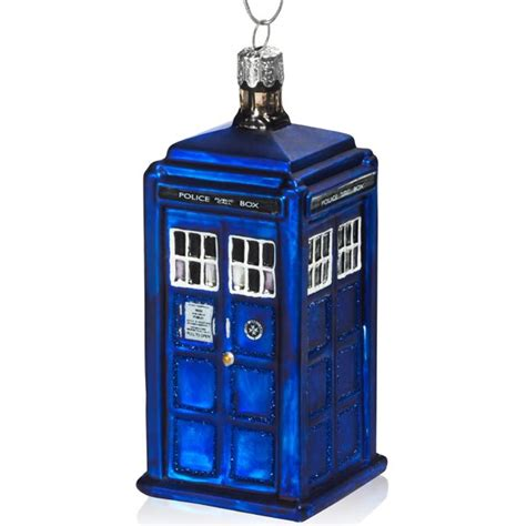 doctor who tardis ornament doctor who shop