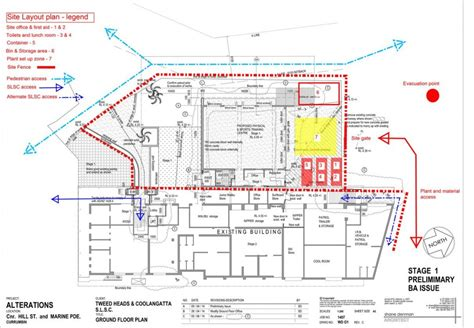 building site plan construction management plan as of 25 august 2014 th c