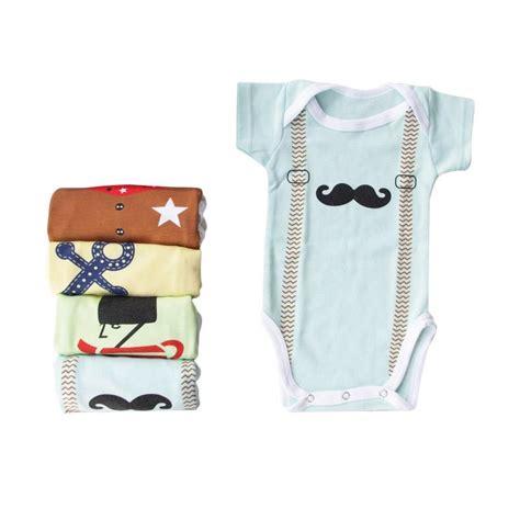 Kazel Bodysuit Baju Bayi Jumpsuit Balita Jumper Baby Isi 4 jual kazel bodysuit boy baju bayi s d batita 0 2 yrs