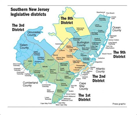 Atlantic County Nj Property Records Legislative Remapping Puts Galloway Township In District