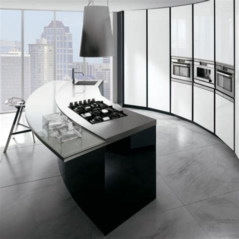 curved kitchen designs 16 divine modern kitchen designs with curved kitchen island