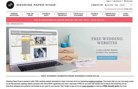 Wedding Paper Divas Free Website by How To Create The Wedding Website