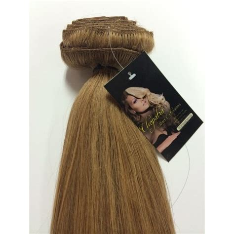 cleopatra hair extensions light brown 24 inch ultimate thick clip in human hair