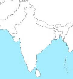 Outline Map Of Indian Subcontinent by Blank Outline Map Of India Pictures To Pin On Pinsdaddy