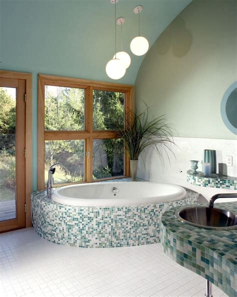 blue and green bathroom blue and green bathroom bathroom contemporary with slate floor tile contemporary