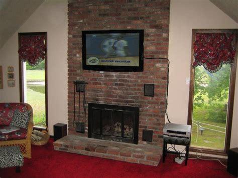 Fireplace Flat Screen by Flat Screen Tv Fireplace Photos