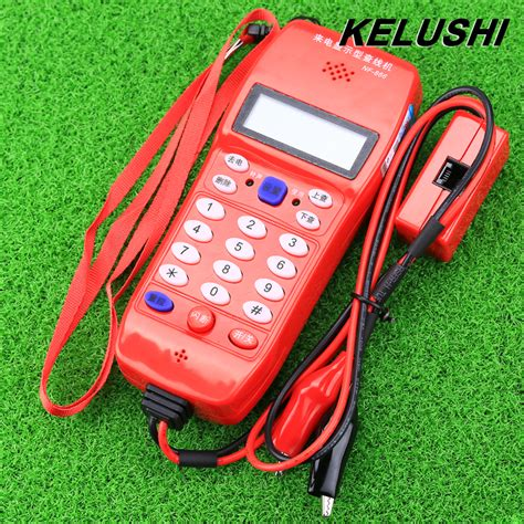 866 Phone Lookup Kelushi Nf 866 Phone Line Cable Tester Telephone Fiber Optical Tool Check Phone Dtmf