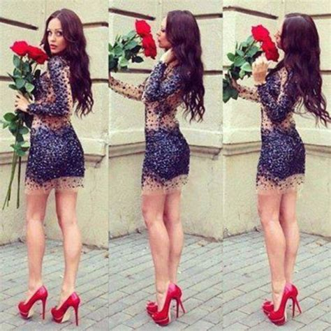in high heels and dresses dress sequin dress sequin prom dress sequins high