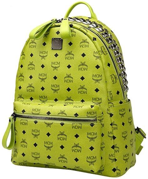 Backpack Stud Crown mcm pyramid stud crown stark backpack