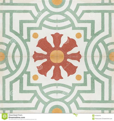 vintage retro floor l vintage style floor tile pattern texture stock photo