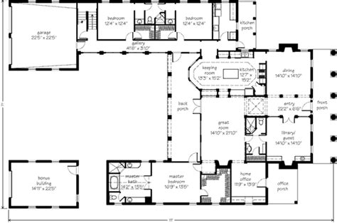 style home plans with courtyard a courtyard home mouzon design southern living house plans