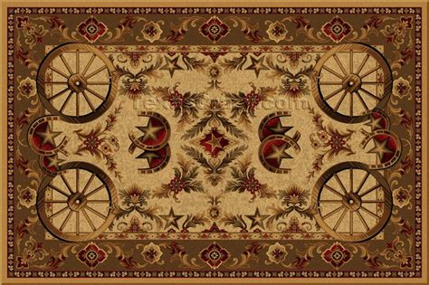 western rugs buy western wagon wheel 5 x 8 area rug rug store