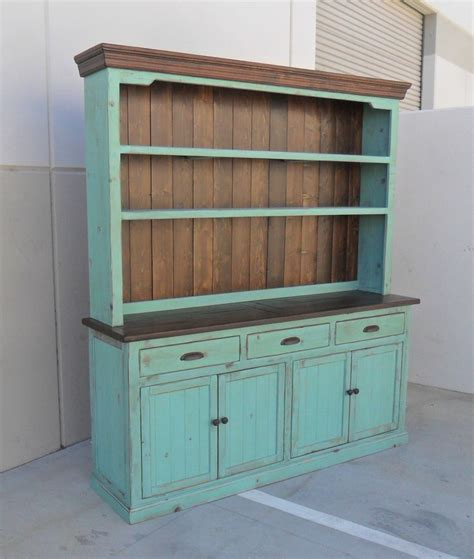 Hutch And Buffet Sideboard Farmhouse Reclaimed Wood Buffets And Cabinets