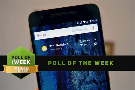what s the best weather app for android what s your favorite weather app poll of the week android authority
