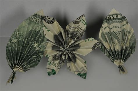 Origami Flowers Made From Money - 65 best images about money origami on dollar