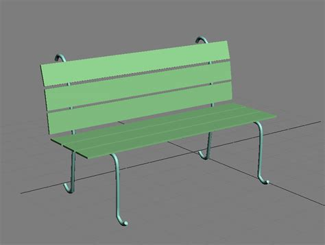 how to draw a bench modeling a street scene in 3dsmax 9 free3dtutorials com