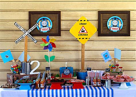 printable thomas the train party decorations thomas the train party birthday party ideas photo 4 of