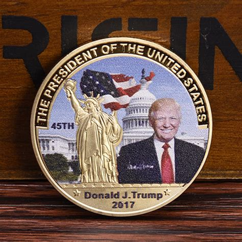 donald trump for president caign american 45th president donald trump gold coin us white