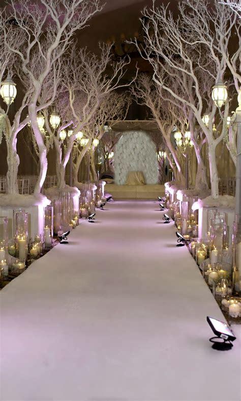 winter decorations winter wedding ceremony decorations ideas