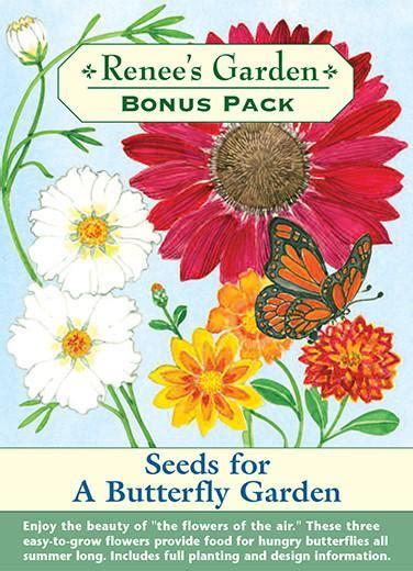 Butterfly Garden Seeds by Seeds For A Butterfly Garden Bonus Pack Renee S Garden