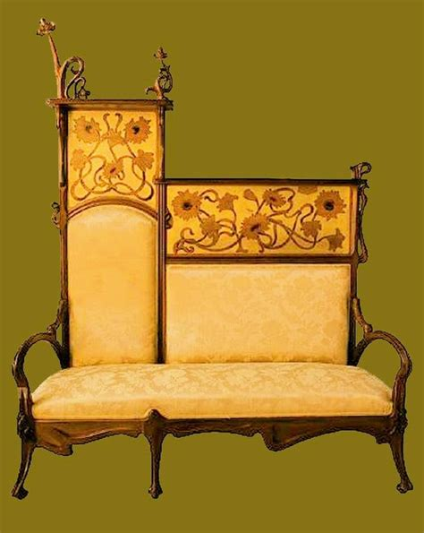 art nouveau couch pin by gina flammang hooper on art nouveau furniture