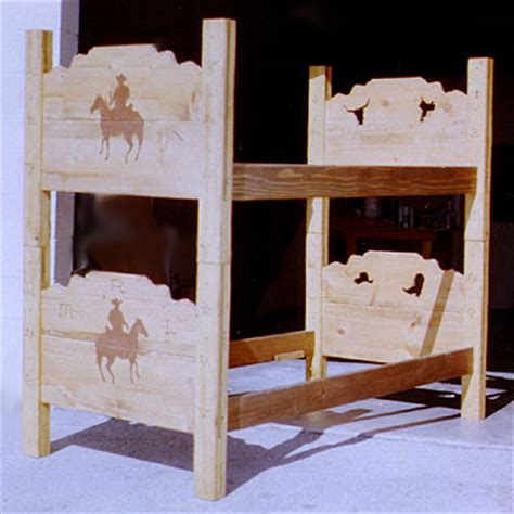 Wagon Wheels Bunk Bed Sets And Bunk Bed On Pinterest Wagon Wheel Bunk Bed