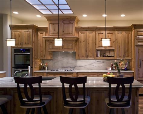 knotty pine cabinets knotty pine cabinets with light counters