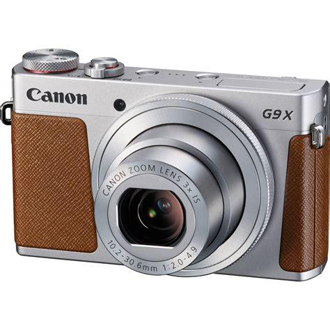 Digital Canon Powershot G9x canon powershot g9 x digital silver 0924c001 b h photo