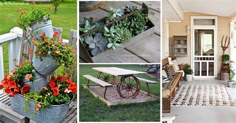 Farm Decorations For Home | repurposed farm equipment ideas for home decorating