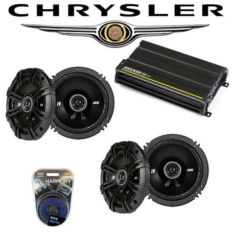 fits chrysler crossfire 2004 2006 speaker upgrade kicker