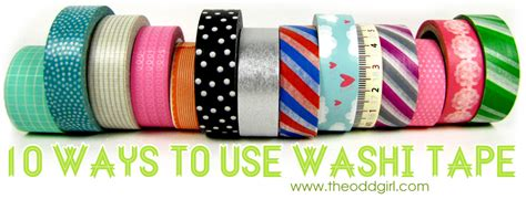 what do you use washi tape for 10 ways to use washi tape kristy dalman
