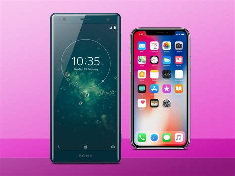 sony xperia xz2 vs apple iphone x which is best stuff