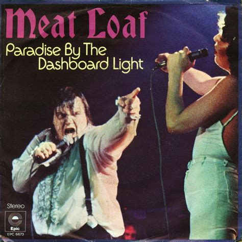 Paradise By The Dashboard Light Meatloaf desert island tracks loaf paradise by the