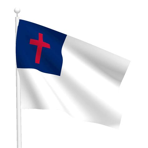 Bunting Wall Stickers christian flag flags international