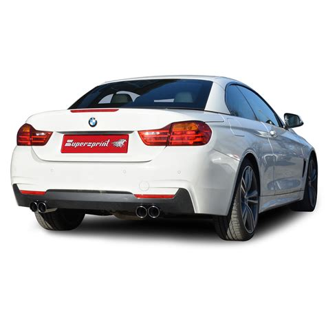Supersprint Catback System Bmw F30 320 N20 Engine Before Lift bmw f30 sedan 328i 2 0t 245 hp gt syst 232 me quot cat back quot supersprint vid 233 os personnelles