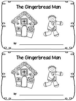 The Gingerbread Man - Emergent Reader by Fancy in Fourth | TpT