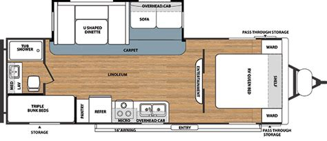 salem travel trailer floor plans salem northwest travel trailer by forest river