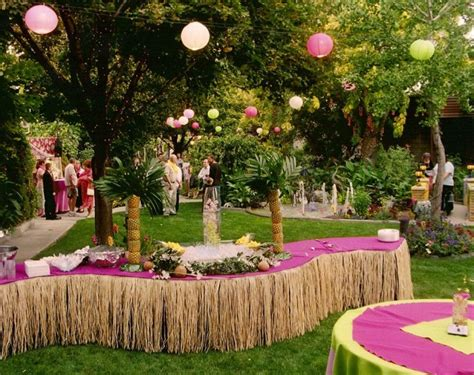 luau themed decorations top 10 classic